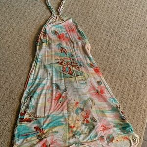 Tommy Bahama Floral Halter Dress
